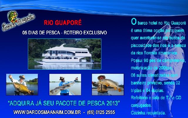 PESCARIA NA AMAZONIA - Rio Guaporé